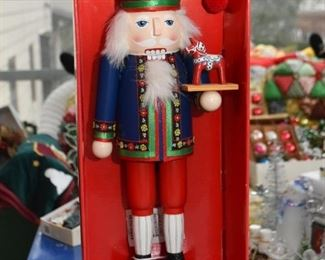 Swedish Nutcracker with Dala Horse
