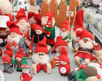 Swedish Christmas Figurines / Decor / Folk Art