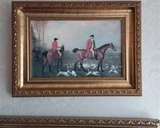 To The Hunt By Lambert Marshal Lot #: 16