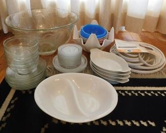 Group Of Dishes Lot #: 20