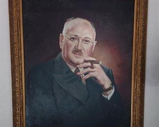 Oil On Canvas Portrait Lot #: 29
