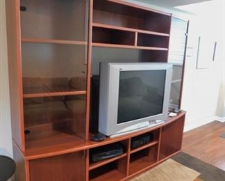 TV Wall Unit Lot #: 51