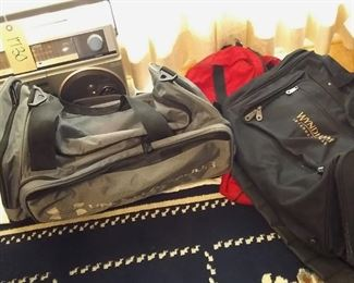 3 Luggage Bags Lot #: 59