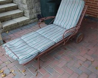 Patio Chaise Lounge Lot #: 73