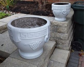 Pair Of Planters Lot #: 74