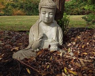 Concrete Bodhisattva Garden Sculpture Lot #: 79