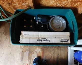 Propane Stove With Extra Propane Lot #: 88