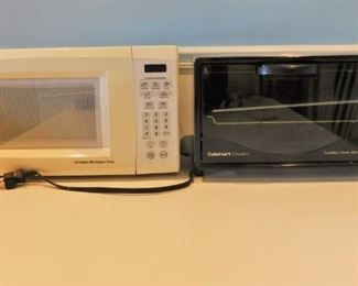 Microwave And Toaster Oven Lot #: 97