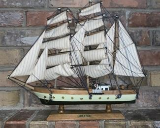 "Nautical Items... 14"" Tall Ship"