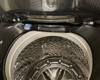Interior of Samsung Topload Washing Machine