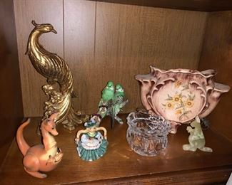 Variety of Antique and Vintage Collectibles, Including  a Lamp vase!