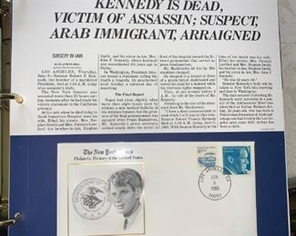 Huge Stamp  Collection!!! Kennedy