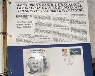 Huge Stamp  Collection!!! John Glenn