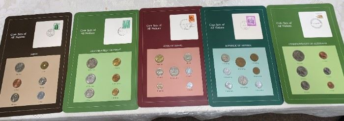 Huge Stamp  Collection!!! Original Coins many Countries / Territories