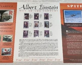 Huge Stamp  Collection!!!  Albert Einstein