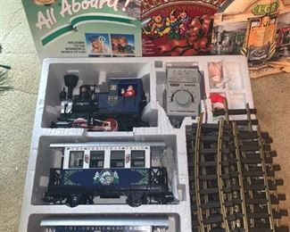 All Aboard! LGB The Christmas Train