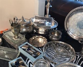 Nice Collection of Silver, Silver Plate