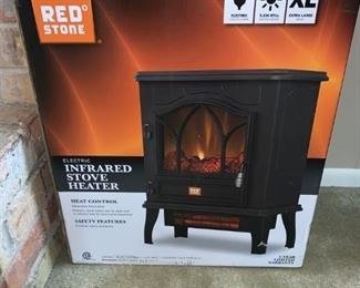Redstone Infrared Stove / Heater Lifelike Fireplace