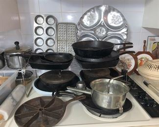 Cast Iron Cookware and More!