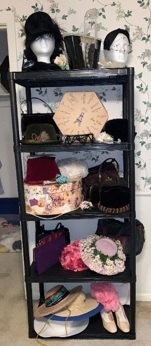 Vintage Hats and Purses