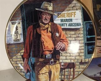 John Wayne Collector Plate