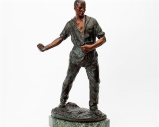 3: Patinated Bronze, European, Early 20th c.
