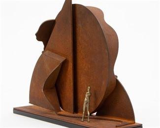19: Ernest Tino Trova 'Profile Canto' Sculpture