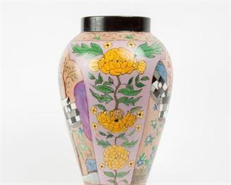 33: 1923 Artist-Painted Limoges Vase
