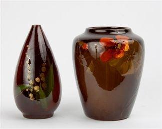 50: Two American Art Pottery Vases, circa 1900