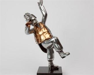 120: Frank Meisler Articulating Metal Judaica Sculpture