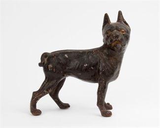 128: Hubley Cast Iron Bull Terrier Doorstop