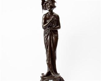 146: Lucien Charles Edouard Alliot 'Phalene' Bronze