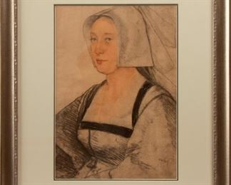 188: Lithograph after Hans Holbein the Younger
