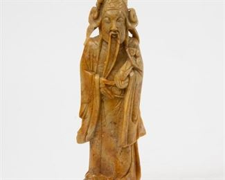211: Chinese Carved Stone Figure of Emolument Star
