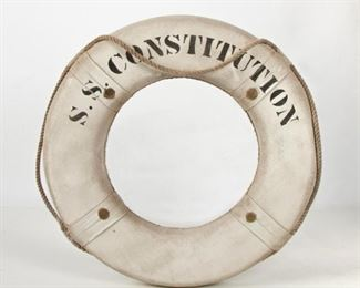 224: Vintage S.S. Constitution Life Ring