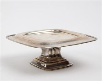 167: Antique Gorham Sterling Silver Compote, 16.11 ozt