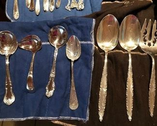 Sterling Silver Serving pieces - specialty spoons