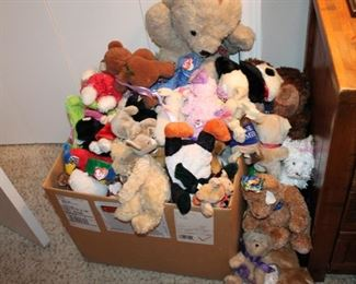 E.T. has to be hiding in this box of Beanie Babies