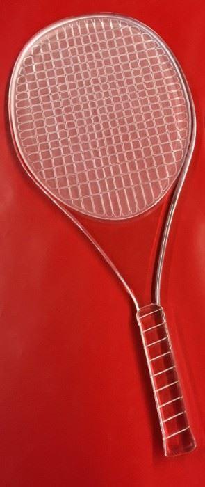 Tennis Racket acrylic
