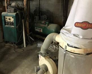 welder compressor dust collector