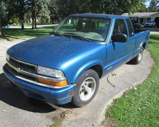 2001 Chev. S10 Pickup