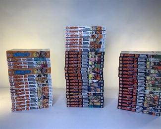 naruto anime/manga volumes 1-62