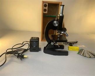 edmunds 300x microscope