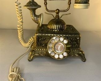 radio shack imperial classique french rotary telephone