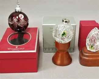 Waterford ornaments