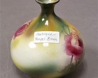 antique Royal Bonn vase