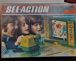 several vintage games & toys