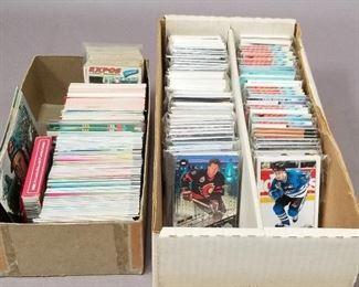 Hockey & Baseball cards
