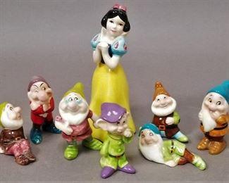 vintage Disney (Japan) mini ceramic set