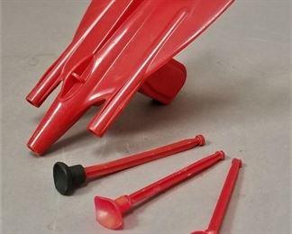 1950s Superior Rocket Gun - works!